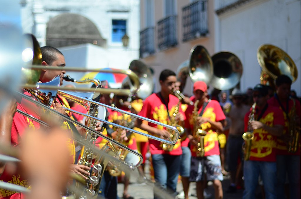 Orquestra de Frevo em Olinda
