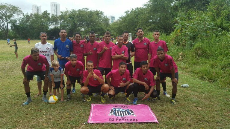 Time de fotebol Oz Panteraz
